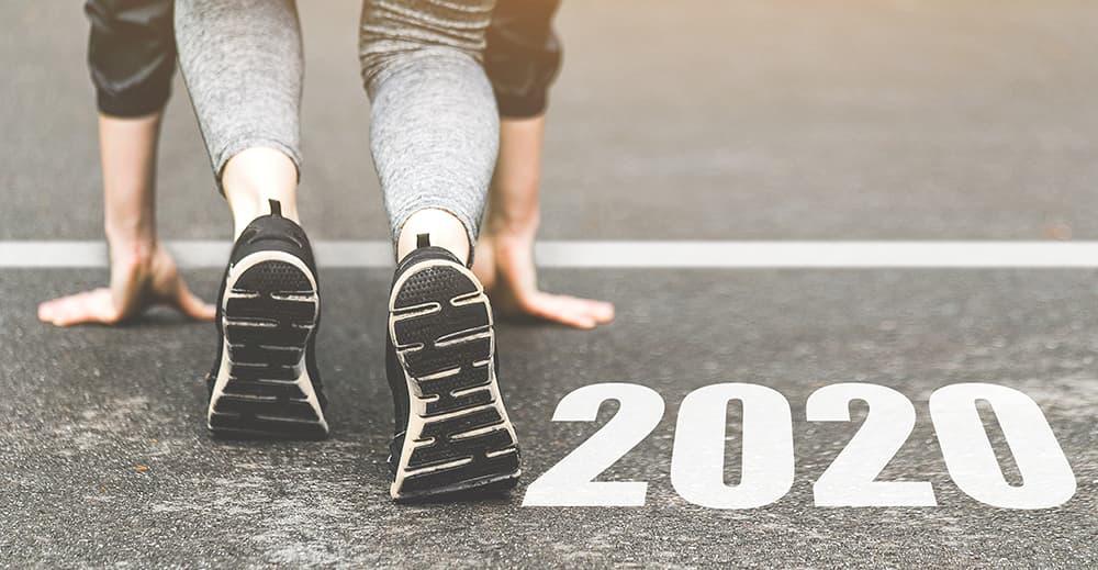 Man Racing Into 2020